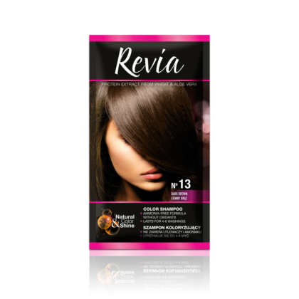 Revia kolor šampon 13 (Dark brown)