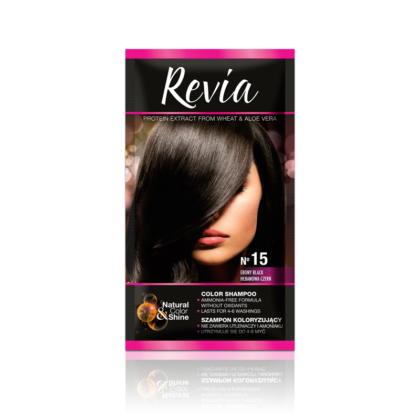 Revia kolor šampon 15 (Ebony black)