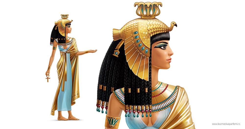 Kleopatra je farbala kosu kanom