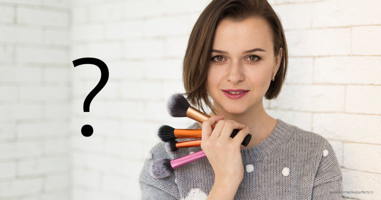 Redosled nanošenja šminke