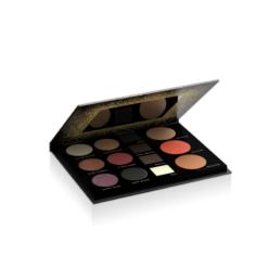 Paleta senki za oči, senki i voska za obrve, bronzera rumenila i hajlajtera VOLLARE Beauty Palette