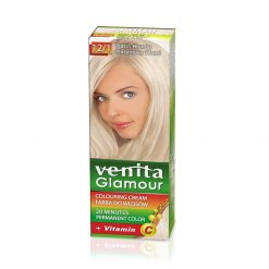 Farba za kosu sa vitaminom C VENITA Glamour (12/1 Platin Blonde)