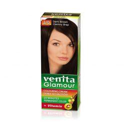 Farba za kosu sa vitaminom C VENITA Glamour (3/0 Dark Brown)