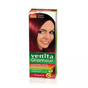 Farba za kosu sa vitaminom C VENITA Glamour (4/1 Cherry)