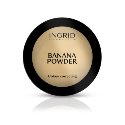 Polutransparentni puder INGRID Banana Powder