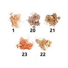 Kameni puder INGRID Mineral Silk & Lift Dream Matt de Lux (paleta)