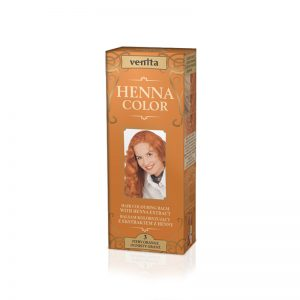 Kana krema za kosu VENITA Henna Color (003 Fiery Orange)