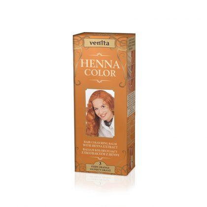 Kana krema za kosu VENITA Henna Color (003 Fiery Orange)