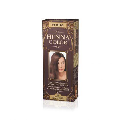 Kana krema za kosu VENITA Henna Color (018 Black Cherry)