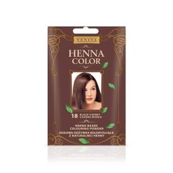 Kana prah za kosu VENITA Henna Color (018 Black Cherry)