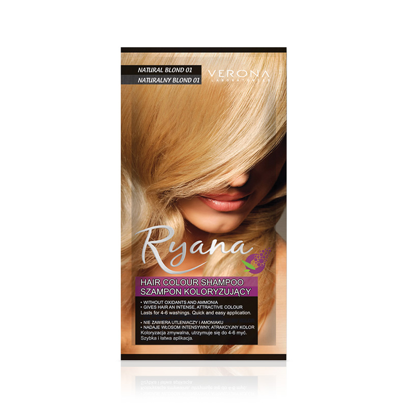 Kolor šampon RYANA (01 Natural Blond)