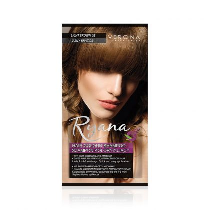 Kolor šampon RYANA (05 Light Brown)