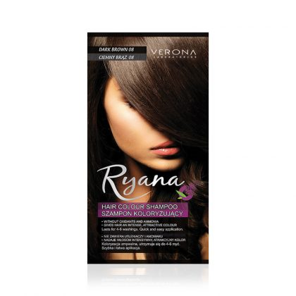 Kolor šampon RYANA (08 Dark Brown)