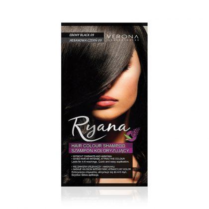 Kolor šampon RYANA (09 Ebony Black)