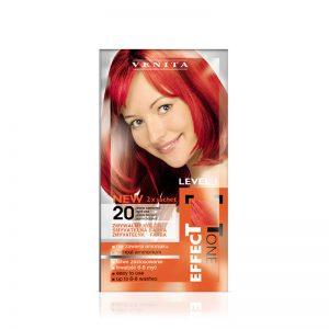 Kolor šampon VENITA Effect Tone (20 Light Red)