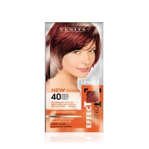 Kolor šampon VENITA Effect Tone (40 Burgundy)