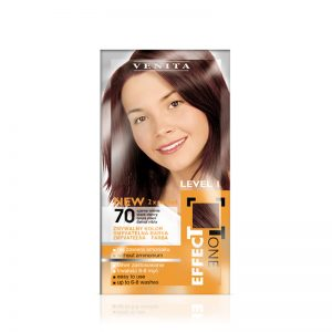 Kolor šampon VENITA Effect Tone (70 Black Cherry)