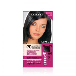 Kolor šampon VENITA Effect Tone (90 Graphite Black)