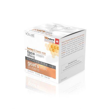 Krema za lice VOLLARE Goat's Milk Proteins with Honey & Bee Wax (kutija)