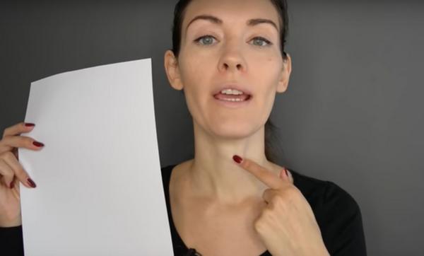 Određivanje podtona kože uz papir