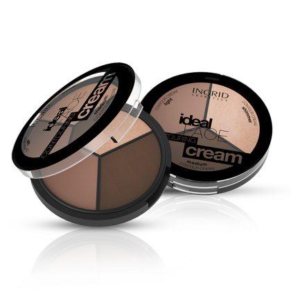 Paleta za konturisanje lica INGRID Ideal Face Contouring Cream