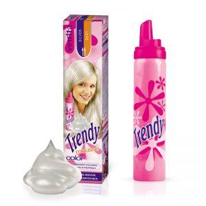 Pena za kosu u boji VENITA Trendy (11 Silver Dust)