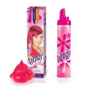 Pena za kosu u boji VENITA Trendy (33 Charming Purple)