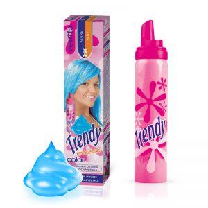 Pena za kosu u boji VENITA Trendy (35 Azure Blue)