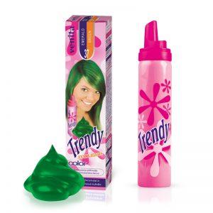 Pena za kosu u boji VENITA Trendy (37 Emerald Green)