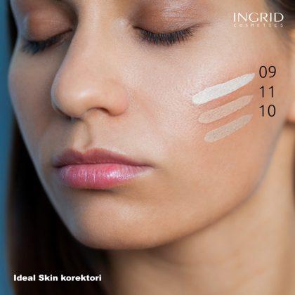 Prikaz INGRID Ideal Skin korektora na koži