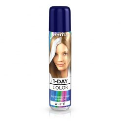 Sprej za kosu u boji VENITA 1-Day (01 White)
