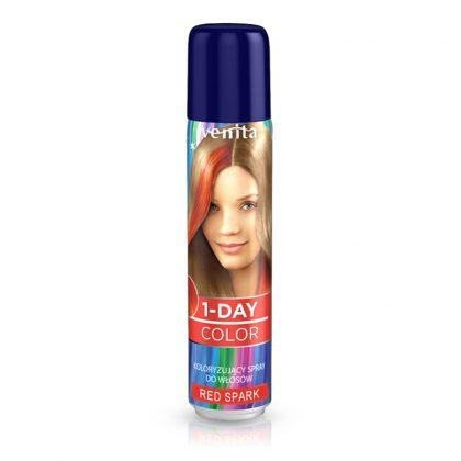 Sprej za kosu u boji VENITA 1-Day (04 Red Spark)