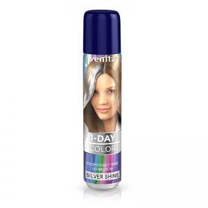 Sprej za kosu u boji VENITA 1-Day (06 Silver Shine)