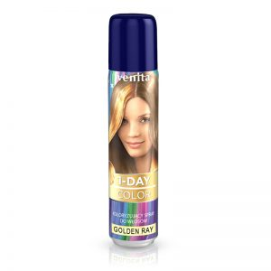 Sprej za kosu u boji VENITA 1-Day (07 Golden Ray)