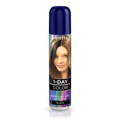 Sprej za kosu u boji VENITA 1-Day (11 Black)