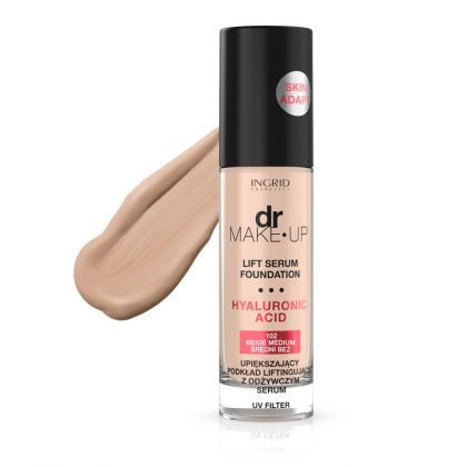 Tečni puder INGRID Dr Make-Up (102 Beige Medium)
