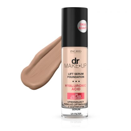 Tečni puder INGRID Dr Make-Up (104 Light Sun)
