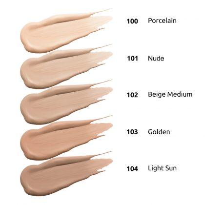 Tečni puder INGRID Dr Make-Up (razmazi)