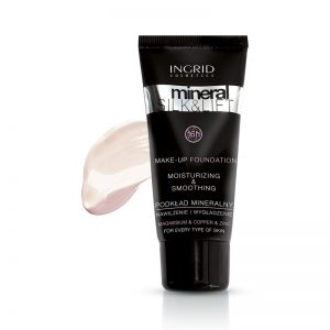 Tečni puder INGRID Mineral Silk & Lift (280 Light Ivory)