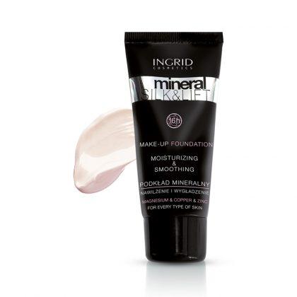 Tečni puder INGRID Mineral Silk & Lift (280 Light Ivory)