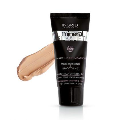 Tečni puder INGRID Mineral Silk & Lift (31 Golden Beige)