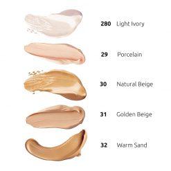 Tečni puder INGRID Mineral Silk & Lift (paleta)