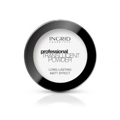 Transparentni puder INGRID Long-Lasting Matt Effect