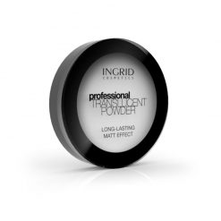 Transparentni puder INGRID Long-Lasting Matt Effect (strana)